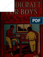 Handicraft for Boys (1918)