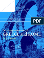 Surveying Instruments of Greece and Rome