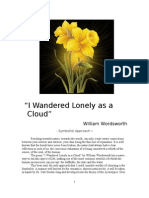 """I Wandered Lonely as a Cloud"" - William Wordsworth"