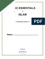 Islam Question Paper- Basic Essentials - Interactive