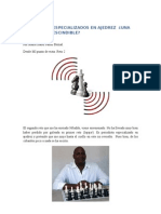 Periodistas Especializados en Ajedrez