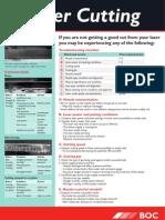 BOC Laser Cutting Flyer