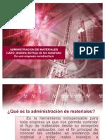 Análisis del flujo de los materiales En una empresa constructora