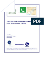 Budget Analysis Report June 07