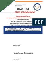 """""""Modelos de Democracia de David Held""""."""
