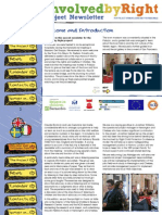 Involved by Right Project Newsletter 2