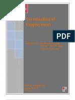 Termination of Employment - Presentation