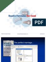 RoarksFormulasforExcel