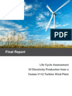LCA V112 Study Report 2011