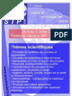 Flyer Colloque Poudres 4-6juillet2011