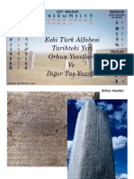 Eski Türk Alfabesi ve Diger Yazıtlar