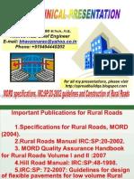 Rural Road Construction