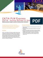 CATIA - Human Builder & Simulation