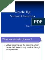 Oracle 11g Virtual Columns