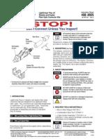 Conector LC Light Crimp - Manual