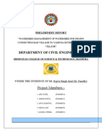 Final Year Project CIVIL ENGG.