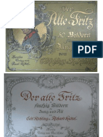 Der alte Fritz in 50 Bildern für Jung und Alt, von Carl Röchling u. Richard Knötel, Berlin 1895.