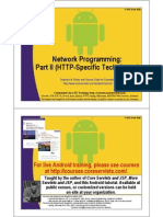 Android Networking 2
