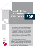 A Tale of Three Countries- Recovery After Banking Crises (English)