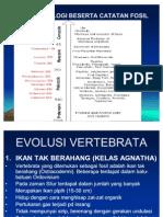 EVOLUSI-VERTEBRATA