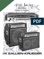 Gk 400rb-IV Manual