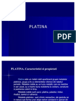PLATINA prezentare proiect