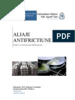 ALIAJE ANTIFRICTIUNE