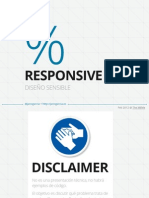 Responsive Web Design - Diseño Sensible by @janogarcia