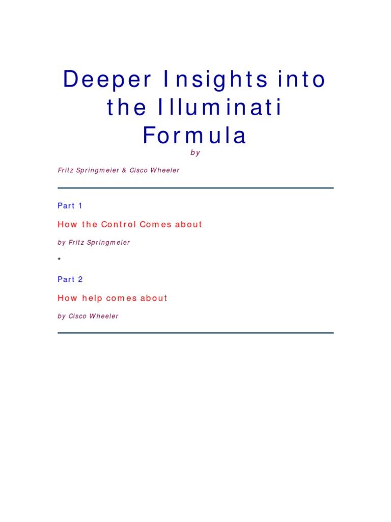 Deeper Insights Into The Illuminati Formula Central Intelligence Band Spectrum Analyzer Circuit Using Op Amps Scorpionz Agency Eugenics