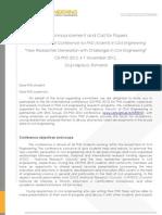 2012 CE-PhD 2012 First Call