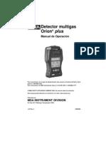 Detector de Gases_orionplussp Msa