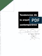 Texto - Tendencias de la arquitectura contemporánea