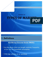 Chapter 14 - Types of Market