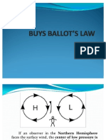 BUYS BALLOT'S LAW