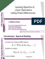 discretizzazione matrice lineare