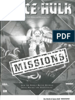 Mission Manual Game Space Hulk Extra 1