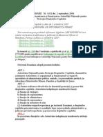 Hotarare Nr. 1432 -2004 Privind Atributiile Organizarea Si Function Area Autoritatii Nationale Pentru Protectia Drepturilor Copilului