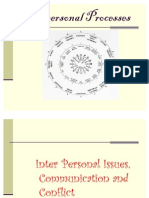 Interpersonal Processes
