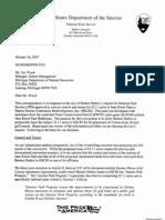 National Park Service rejection of Harbor Shores in JKP