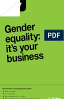 Gender equality: it's your business