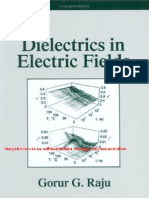 Dielectrics in Electric Fields Book