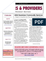 Payers & Providers Midwest Edition – Issue of February 28, 2012