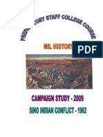 Prestaff Precis Sino Indian Conflict of 1962
