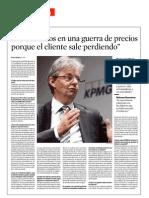 John Scott, Presidente de KPMG España