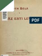Tóth Béla - 100 esti levél 1904.