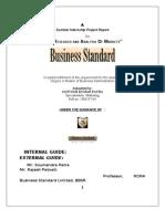 Research and Analysis of Market by Santosh Ku. Patra
