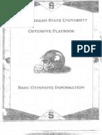 2006 Michigan State University Offense