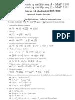 Algebra Lista zadań