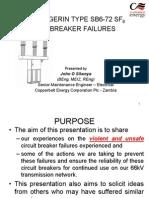 Presentation - Merlin Gerin Sb6-72 Sf6 Cb Failures - Final