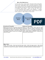 Wise Mind Worksheet